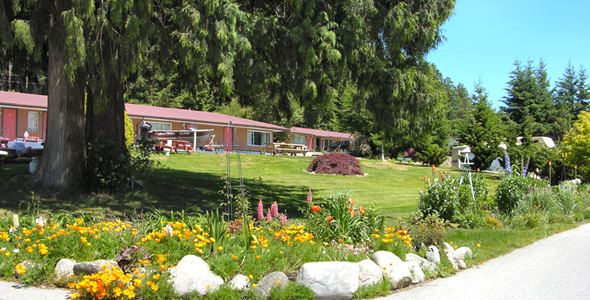 Welcome to Seaside Villa Motel in beautiful Powell River, BC